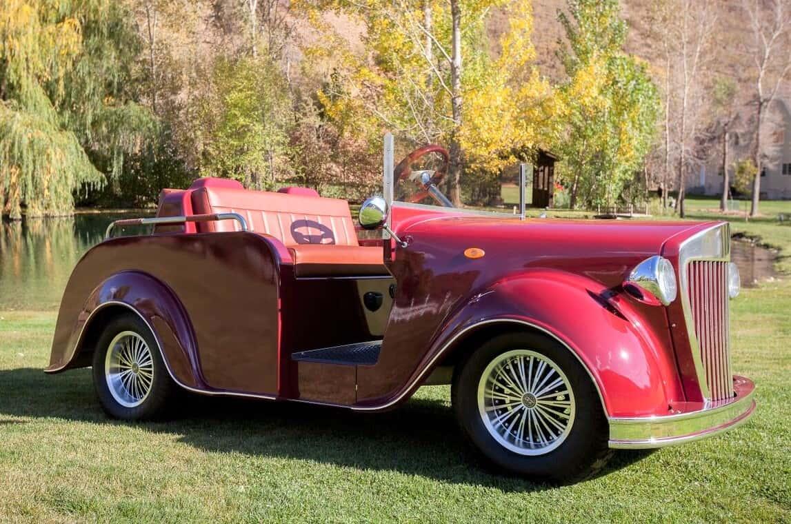 golf cart classic car