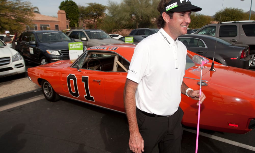 Tiger, Arnie, Bubba and more Masters Tournament champions and their collector cars