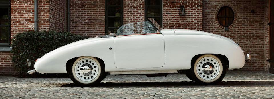 Teardrop roadster prototype on Bonhams' Monaco auction docket