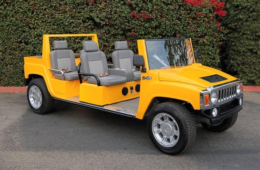 Hummer H# golf cart