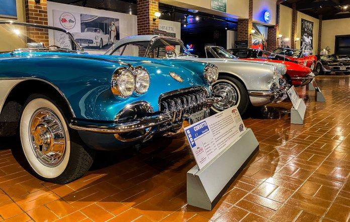 Gilmore Car Museum Corvettes