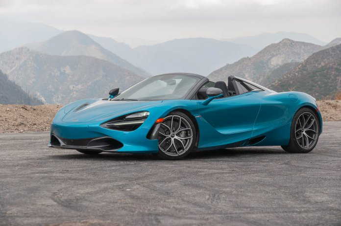 2020 McLaren 720S Spider | MotorAuthority