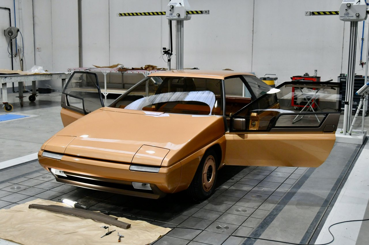 Mazda looked to the future in 1981 with the MX-81 concept