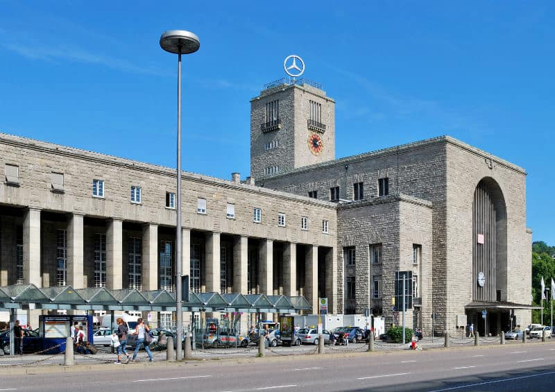 Stuttgart rail station