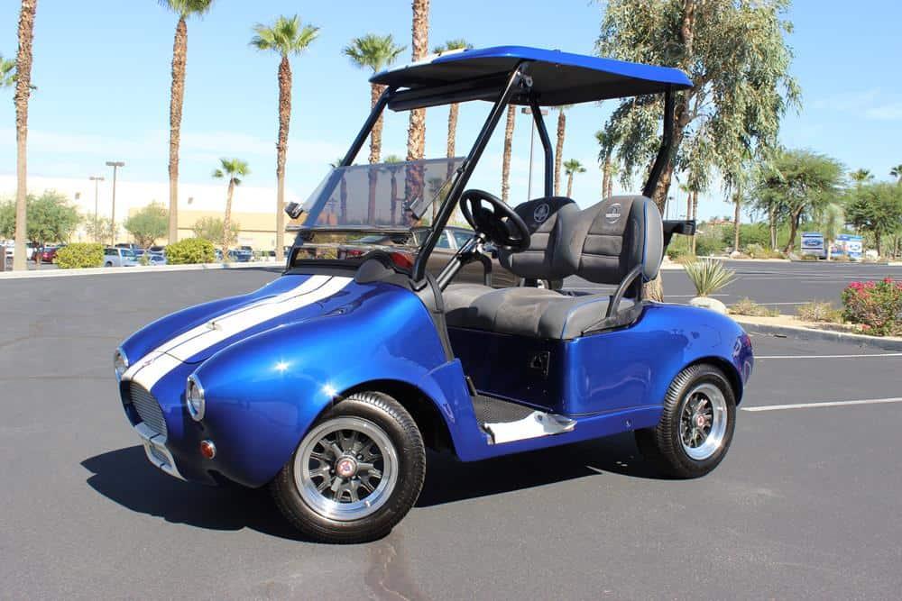 Shelby Cobra golf cart