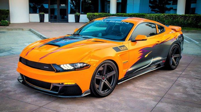 "2019 Saleen Mustang 302 Black Label named ""Blazing Fury"""