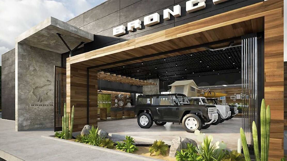 Ford dealers reportedly opt to build 100 standalone Bronco stores