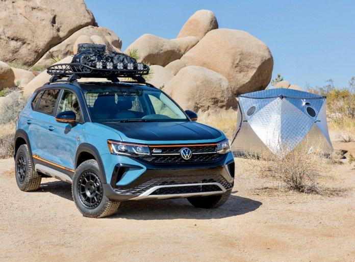 VW Taos Basecamp