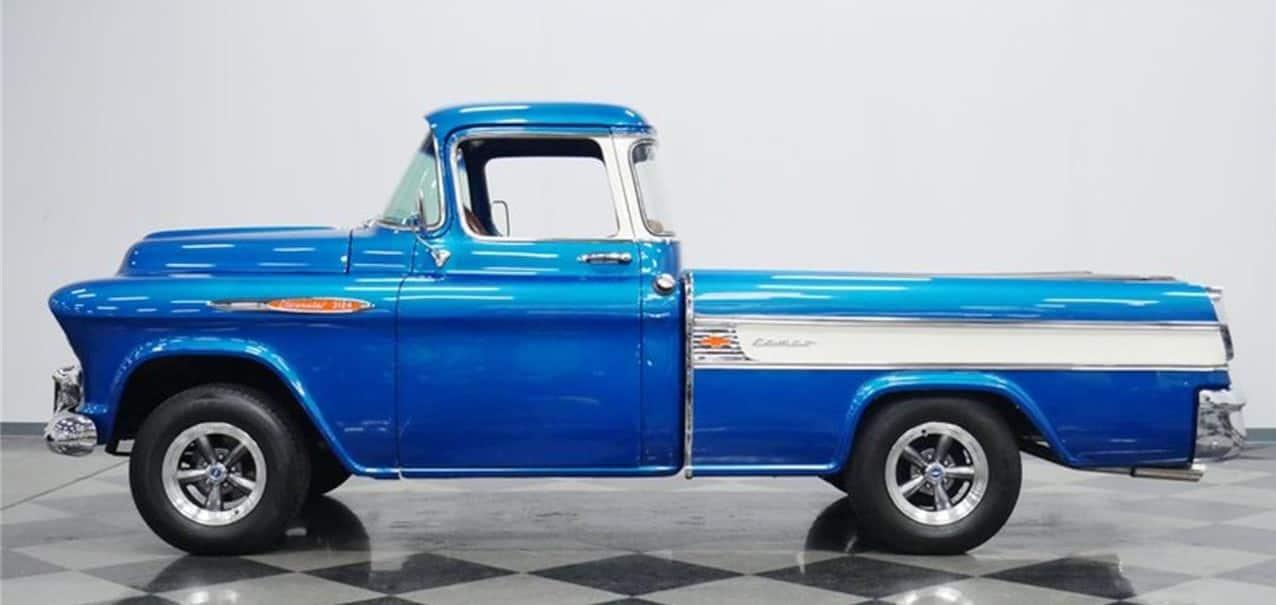 "1957 m. ""Chevrolet Cameo Carrier"""