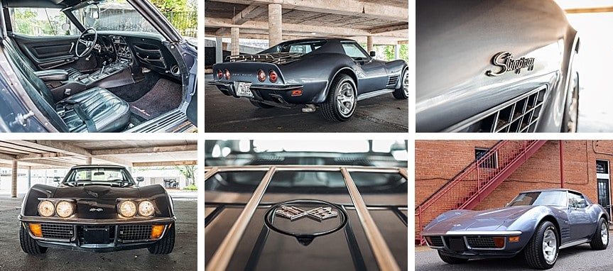 1971 Corvette Stingray charity car