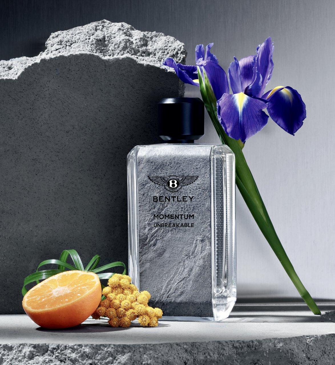Bentley's newest scent for men: Momentum Unbreakable