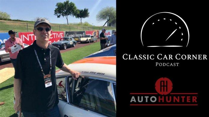 Classic Car Corner podcast AutoHutner