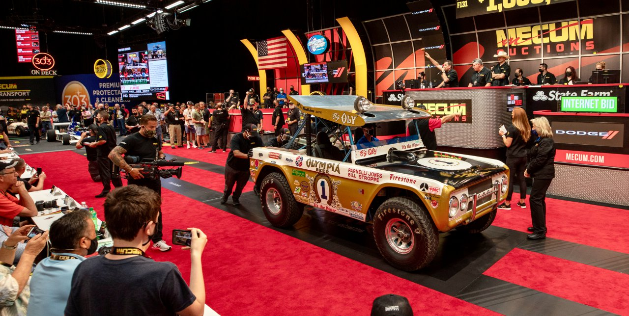 'Big Oly' brings $1.87 million at Mecum Indy auction