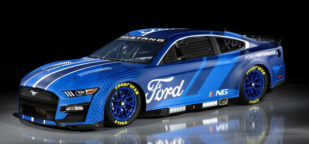 2022 NASCAR Mustang