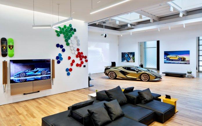 Lamborghini Lounge