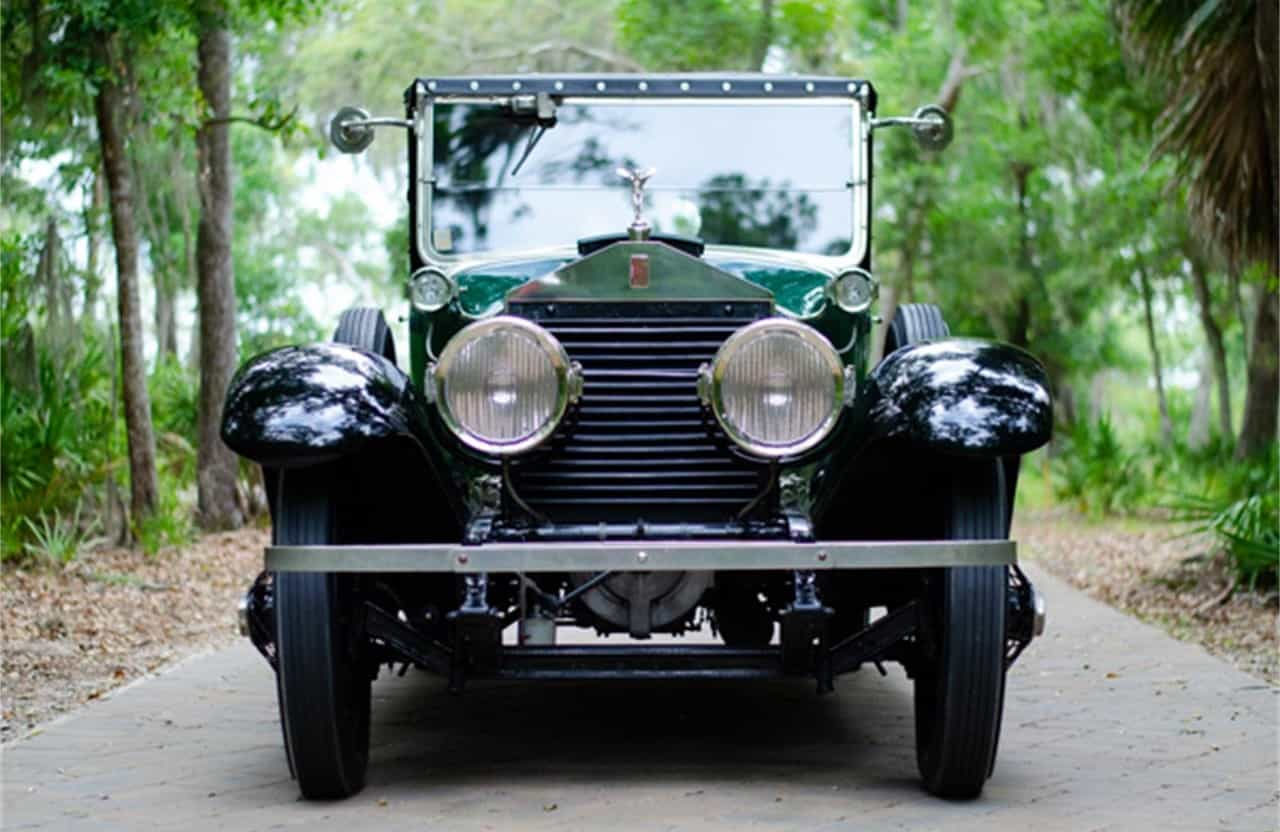 1923 Rolls-Royce Silver Ghost front view