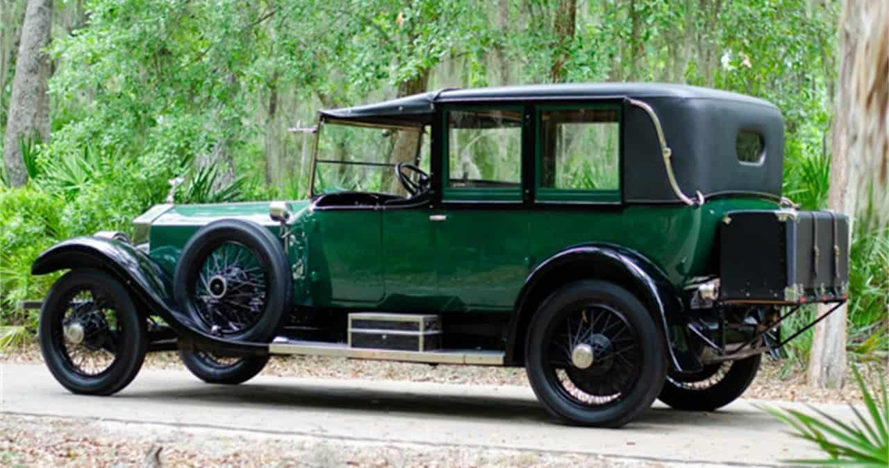 1923 Rolls-Royce Silver Ghost side  view