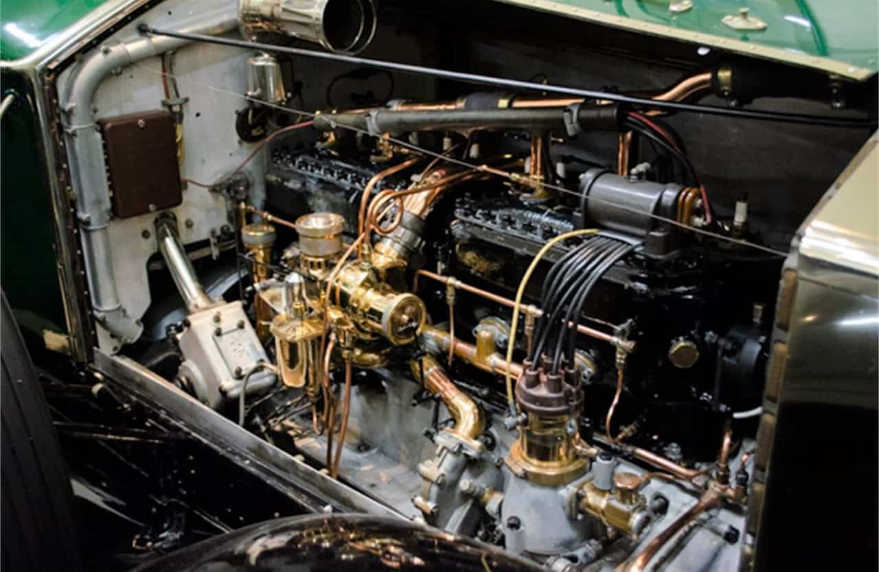 1923 Rolls-Royce Silver Ghost engine