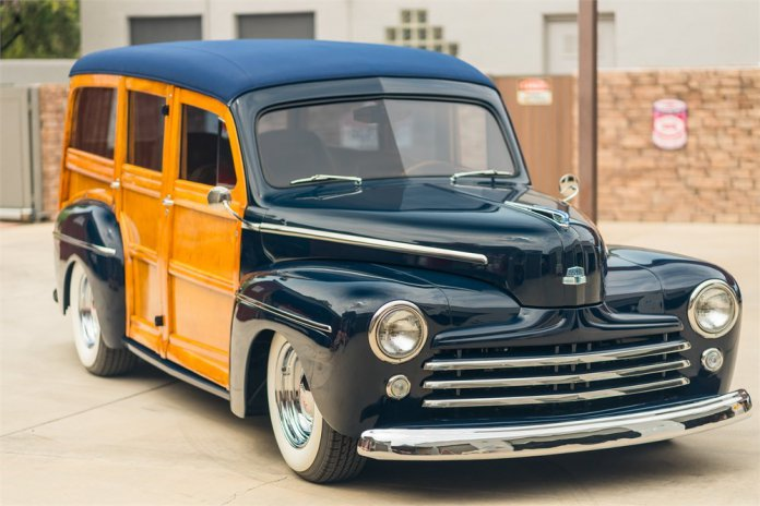 1948 Ford Super Deluxe Woody main