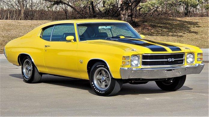 1971 Chevrolet Chevelle SS 1