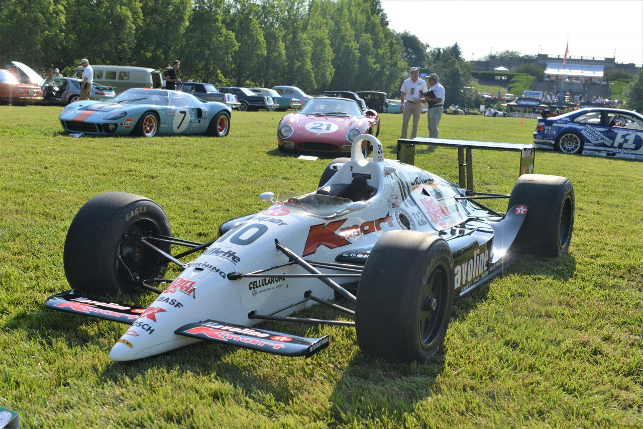 Rare and collectible cars on show at Cincinnati Concours d' Elegance