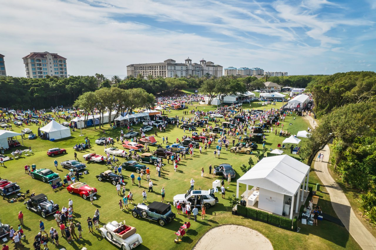 The Amelia Island Concours d'Elegance celebrates collector vehicles and motorsports heroes with an event that includes seminars, auctions, a road tour and more | Deremer Studios LLC photos
