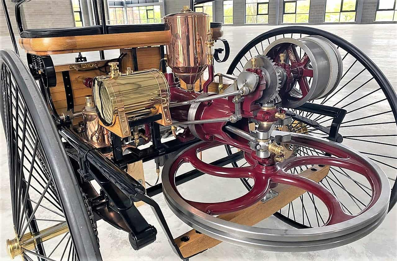 benz, Pick of the Day:  1886 Benz Patent-Motorwagen, a replica of the first car, ClassicCars.com Journal