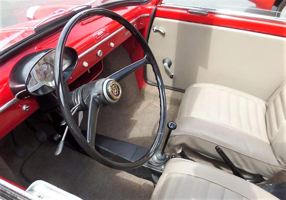 bianchina, Pick of the Day: 1958 Autobianchi Bianchina Transformable from Italy, ClassicCars.com Journal