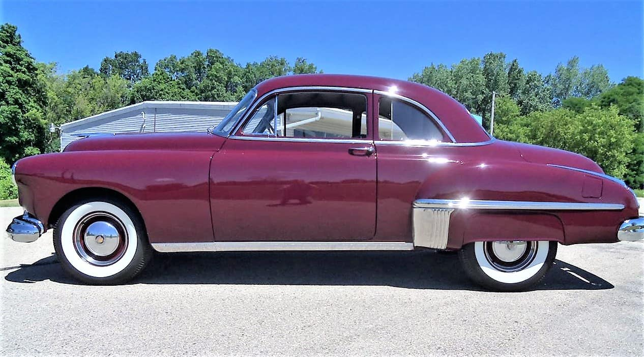 oldsmobile, Pick of the Day: 1949 Oldsmobile 76 club coupe, restored and ready to go, ClassicCars.com Journal