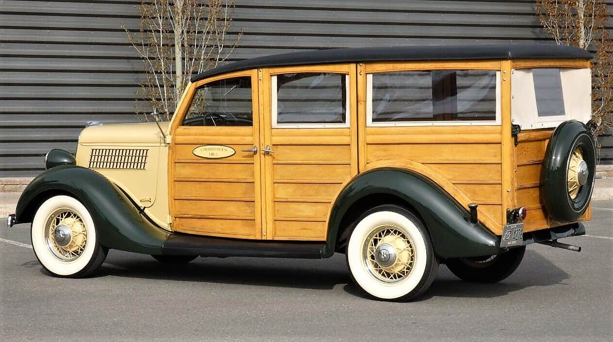 woody, Pick of the Day: 1935 Ford woody wagon sans reference to surfboards, ClassicCars.com Journal