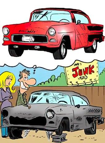 cartoon, Classic Carl cartoon contest: Share your best caption ideas, ClassicCars.com Journal