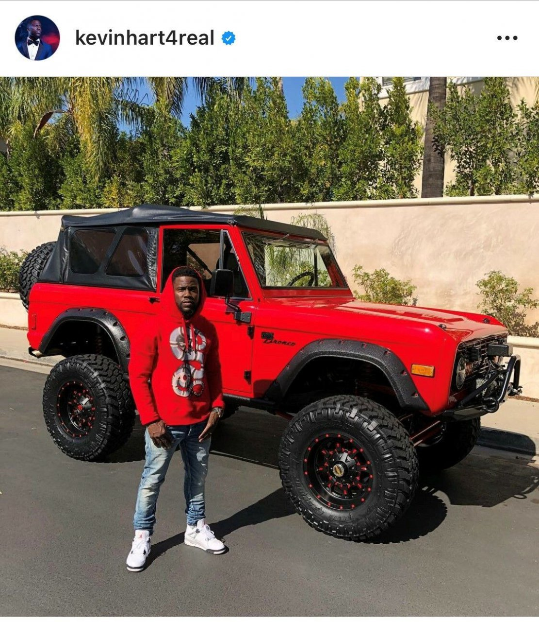 Kevin Hart to sell his custom 1977 Ford Bronco at Barrett-Jackson's Las Vegas auction