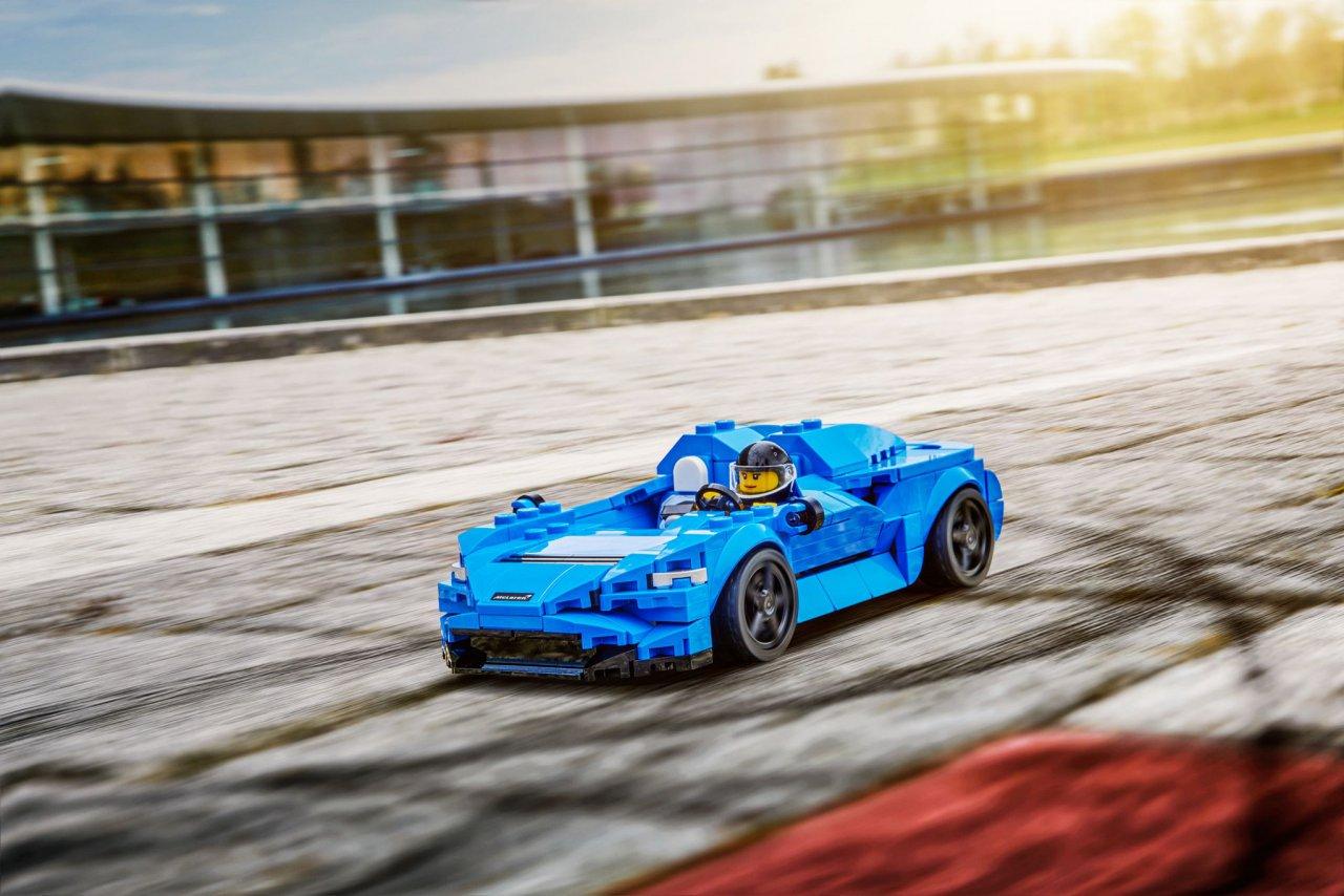 Lego adds McLaren Elva to its Speed Champions garage