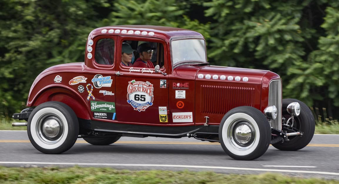 Great Race, Sisters, ages 20 and 18, youngest winners of The Great Race, ClassicCars.com Journal