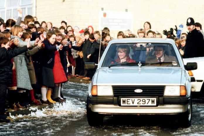Prince Diana's 1981 Ford Escort Ghia