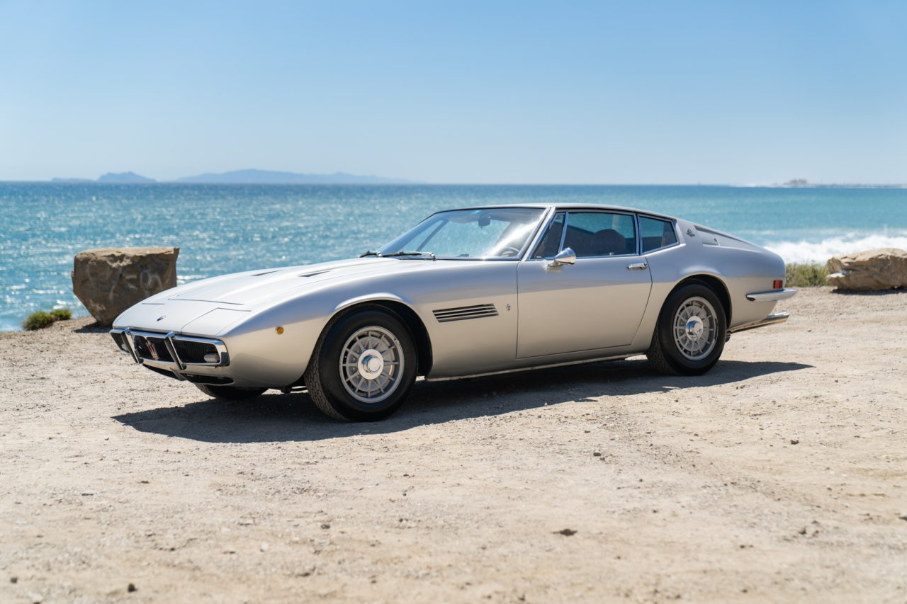 Neil Peart's 1973 Maserati Ghibli 4.9 SS Coupe | Image courtesy of Gooding & Company, photo by Mike Maez