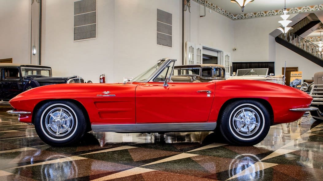 You could win a 1963 Corvette Stingray by donating to the Auburn Cord Duesenberg Museum