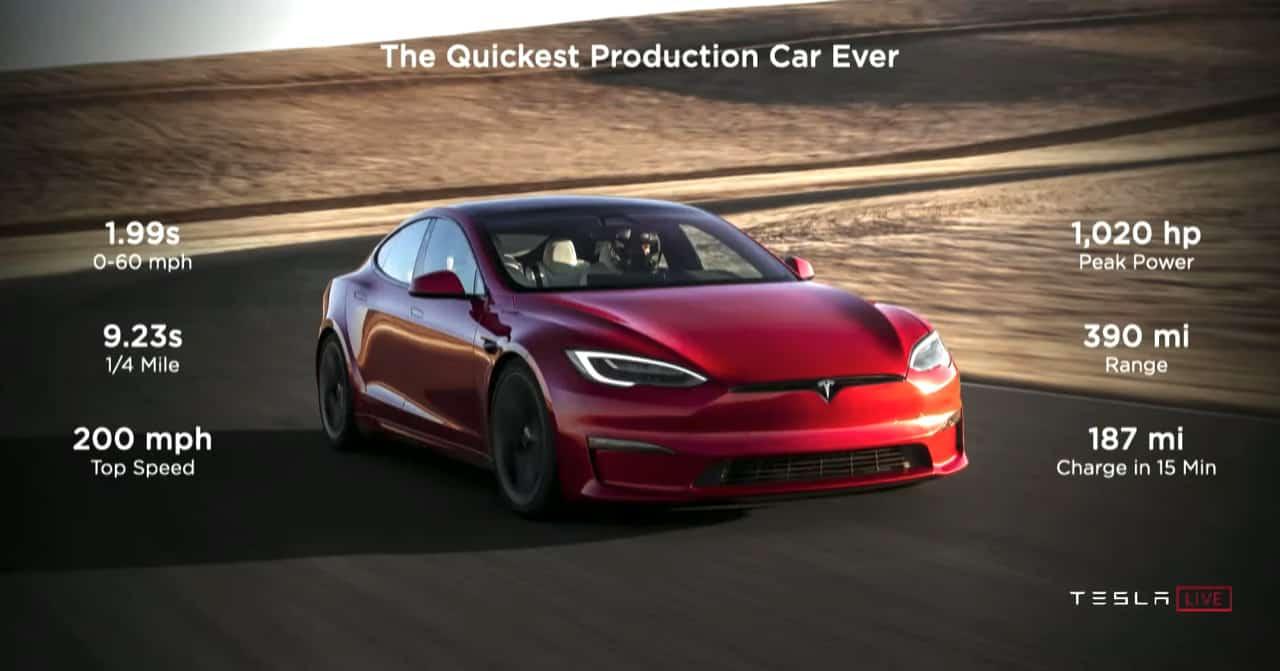 Tesla, Watch Jay Leno set 9.24s quarter-mile world record in the Tesla Model S Plaid, ClassicCars.com Journal