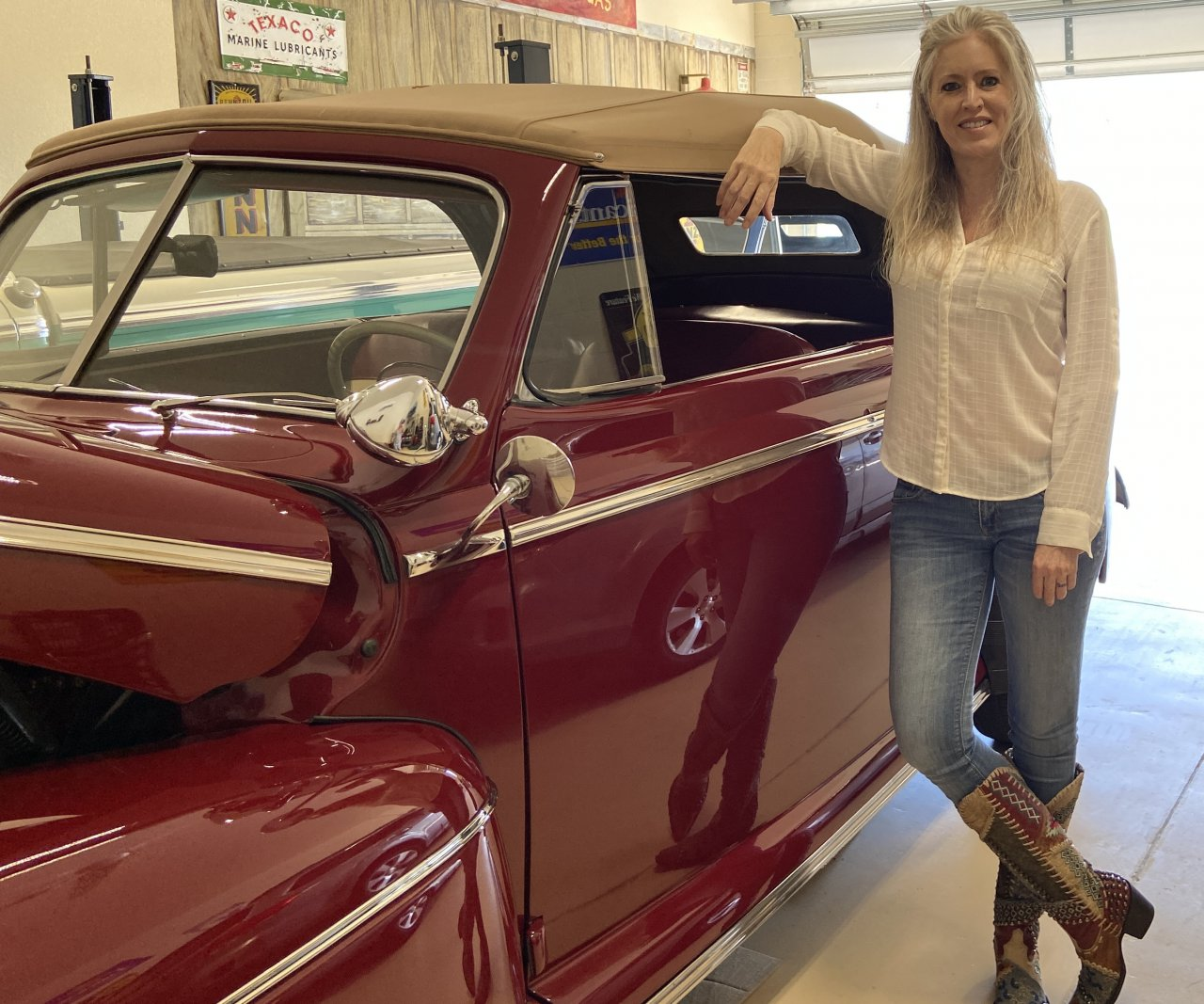 Brooks, The story behind 'Surprise Peanut,' a gift for a former president and first lady, ClassicCars.com Journal