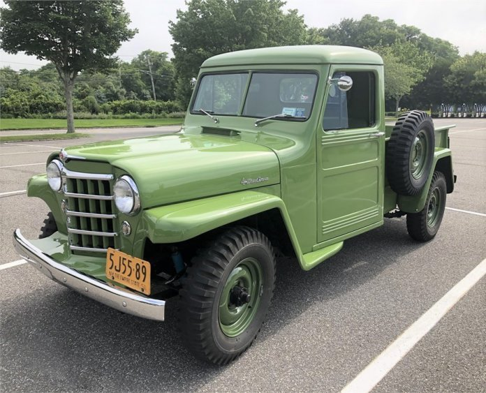 1951 Willys-Overland pickup featured on AutoHunter