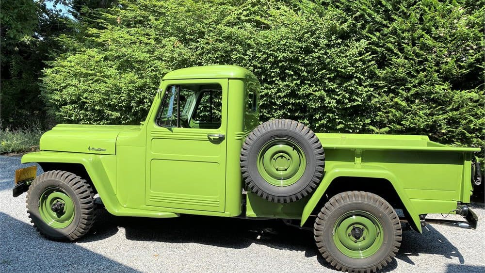 1951 Willys-Overland pickup