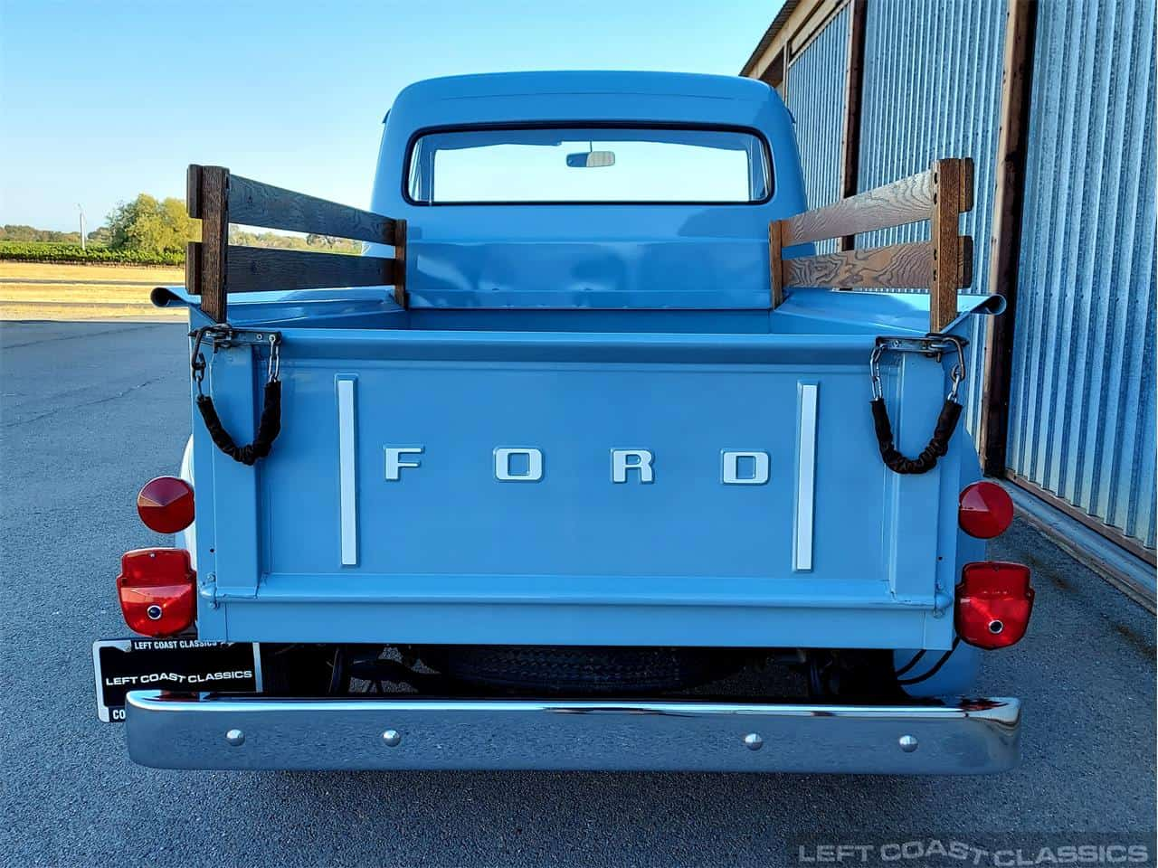 pickup, Pick of the Day: 1954 Ford F100, barn-found baby blue pickup, ClassicCars.com Journal