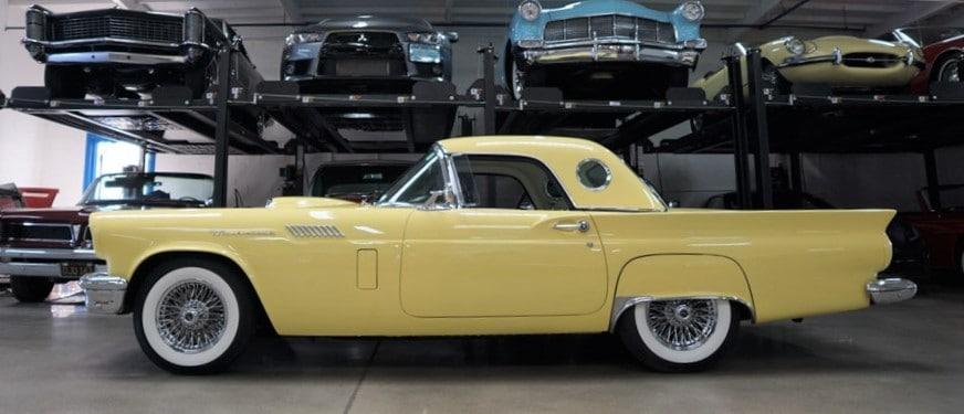 """Thunderbird"", ""AutoHunter Spotlight"": 1957 m. ""Ford Thunderbird"", ""ClassicCars.com Journal"""