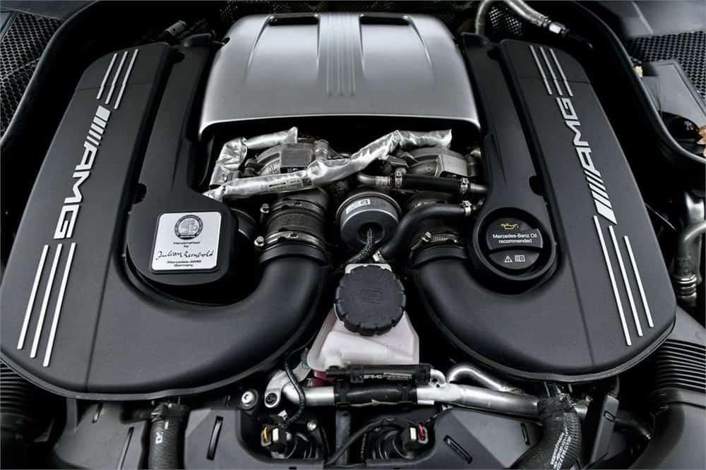 2020 Mercedes-Benz C63 AMG-S engine