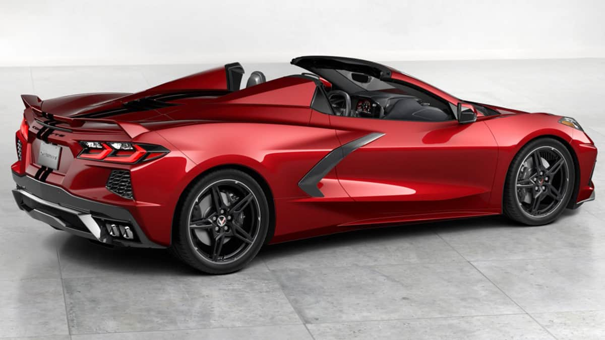 Your chance to win a 2021 Z51 Corvette Stingray convertible from IMRRC