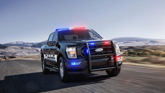 2021 F-150 Police Responder