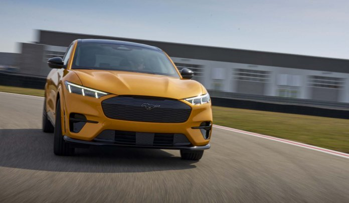 2021 Ford Mustang Mach-E GT | Ford photos