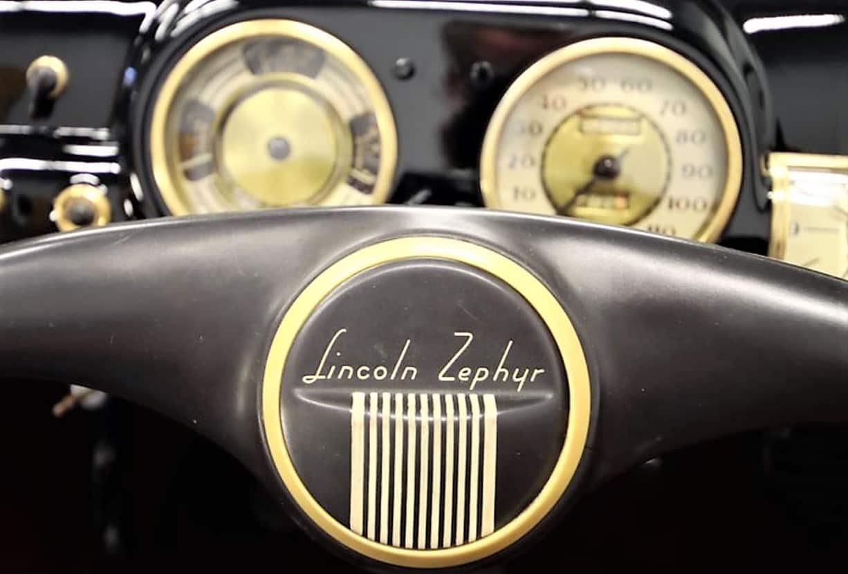 lincoln, Pick of the Day: 1940 Lincoln Zephyr convertible in all its V12 glory, ClassicCars.com Journal