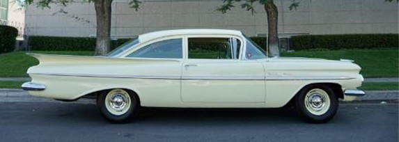 Chevrolet, Pick of the Day: One-year beauty, the '59 Chevy, ClassicCars.com Journal