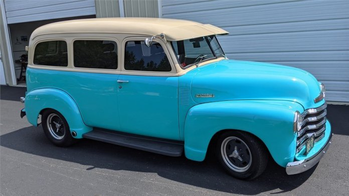 1949 Chevrolet Suburban featured on AutoHunter